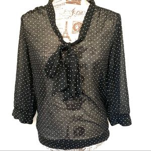 50% off 2+ items😜 The Limited Sheer Blouse-M